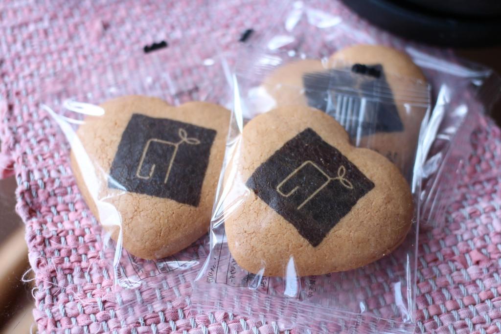 ののはな草木染アカデミー開校記念クッキー