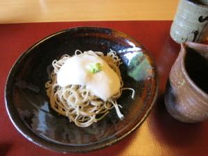 山かけ蕎麦