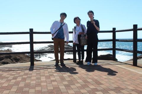 6月でも日本海は荒い波