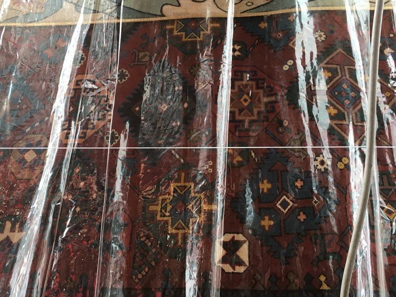 祇園祭・月鉾の懸装品の異国風絨毯