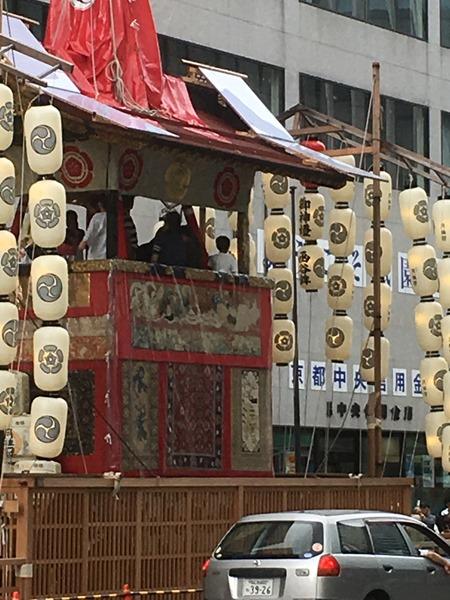 祇園祭・函谷鉾の懸装品はインド、中国近辺の絨毯