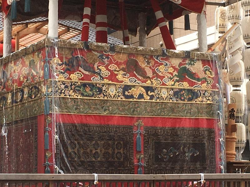 祇園祭・長刀鉾の懸装品