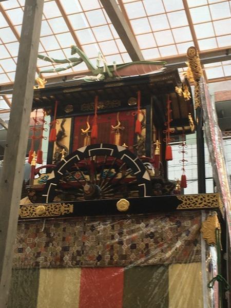 祇園祭・蟷螂山(とうろうやま)は中国・日本混交主題