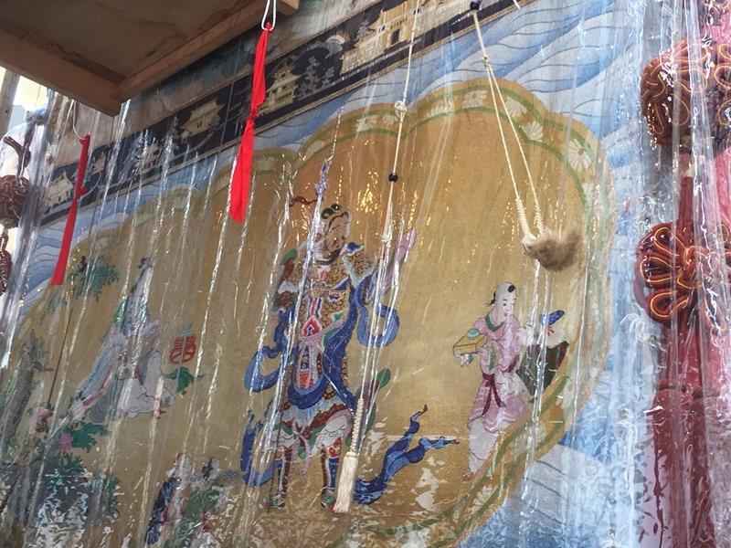 祇園祭・菊水鉾も中国・日本混交主題