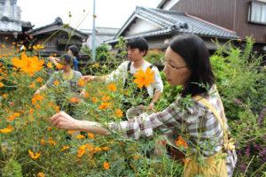 自然豊かな京都府井出町で草木染め体験