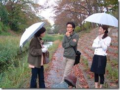 NHK京都テレビの「京のええとこ連れてって」の取材の様子