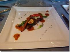 イベリコ豚のグリル、マスタードソース