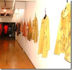 2008年野の花工房展示会、嶋屋画廊、展示の様子