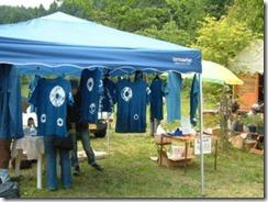 藍染体験教室、Tシャツ