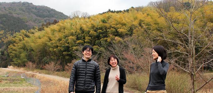 ののはな草木染アカデミー講師、松本つぎ代、松本拓美、松本陽菜